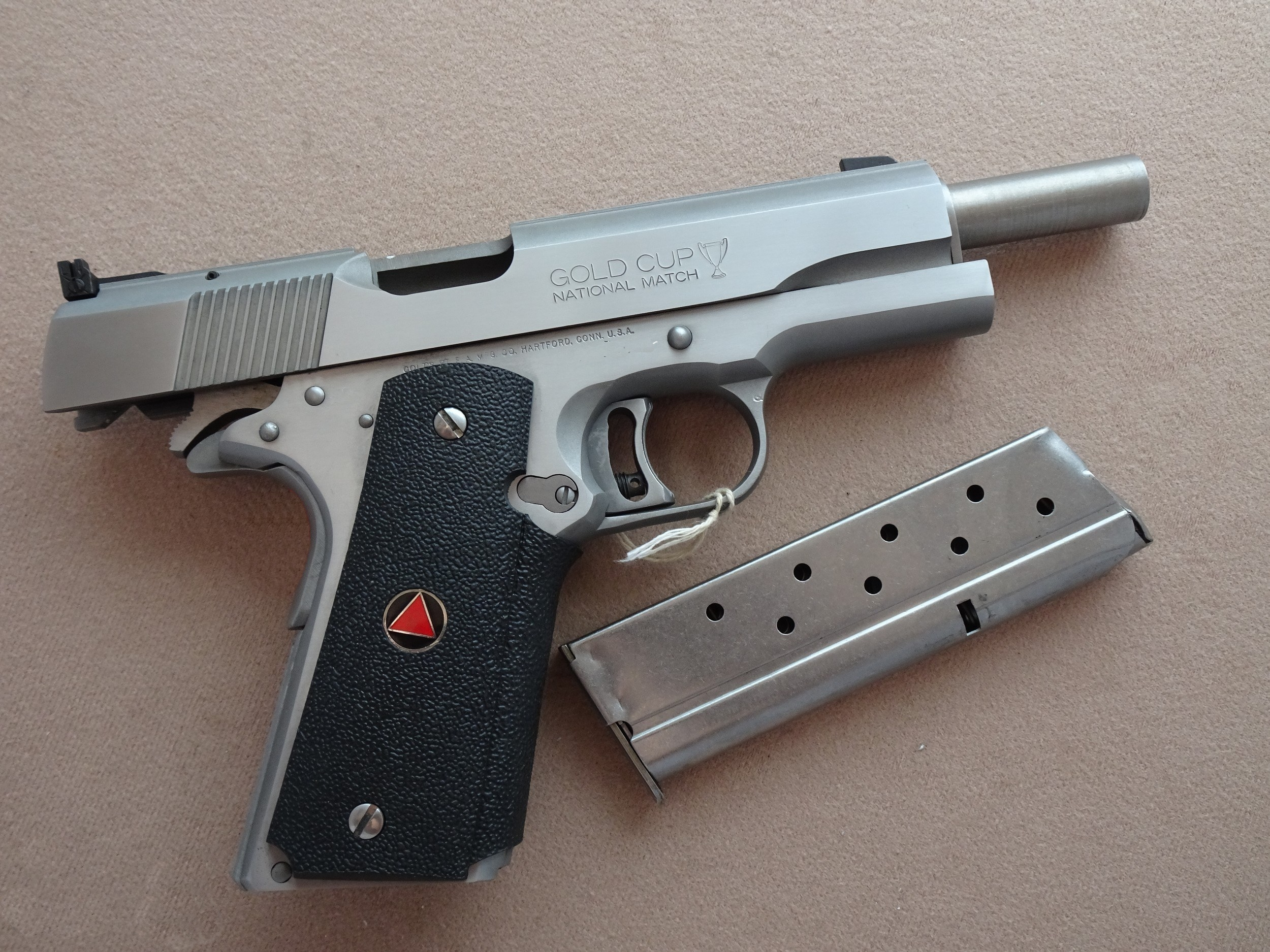 Colt Gold Cup Delta 10mmAuto Stainless Steel