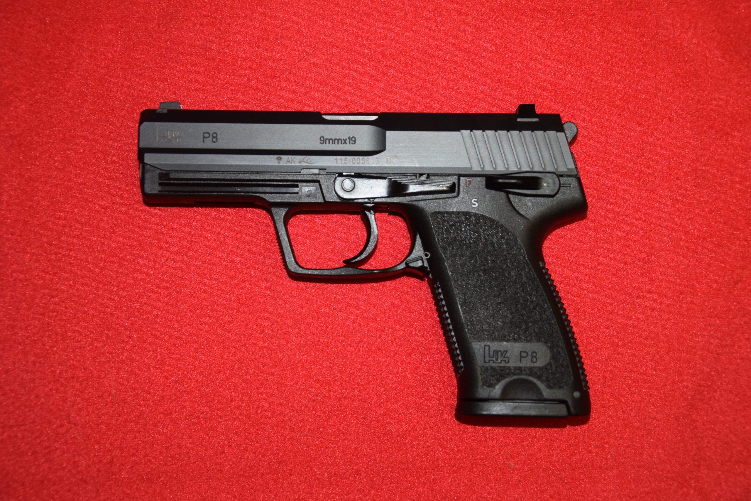 H&K P8 / 9mm Para