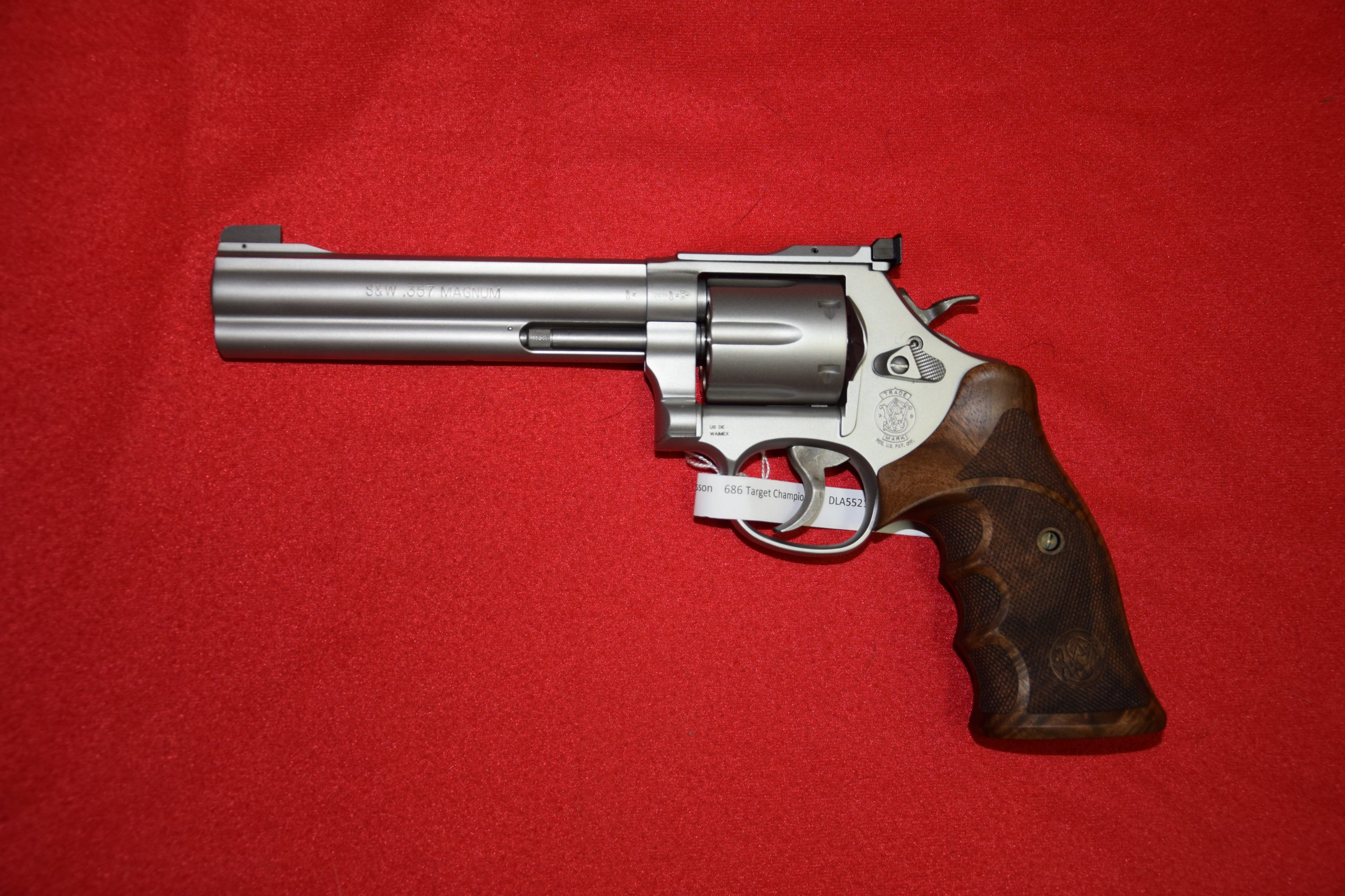 Smith&Wesson Revolver 686-6 Target Champion / .357mag